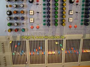 ARP2500 modular synthesizer