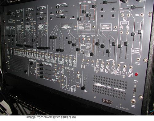ARP2600 synthesizer