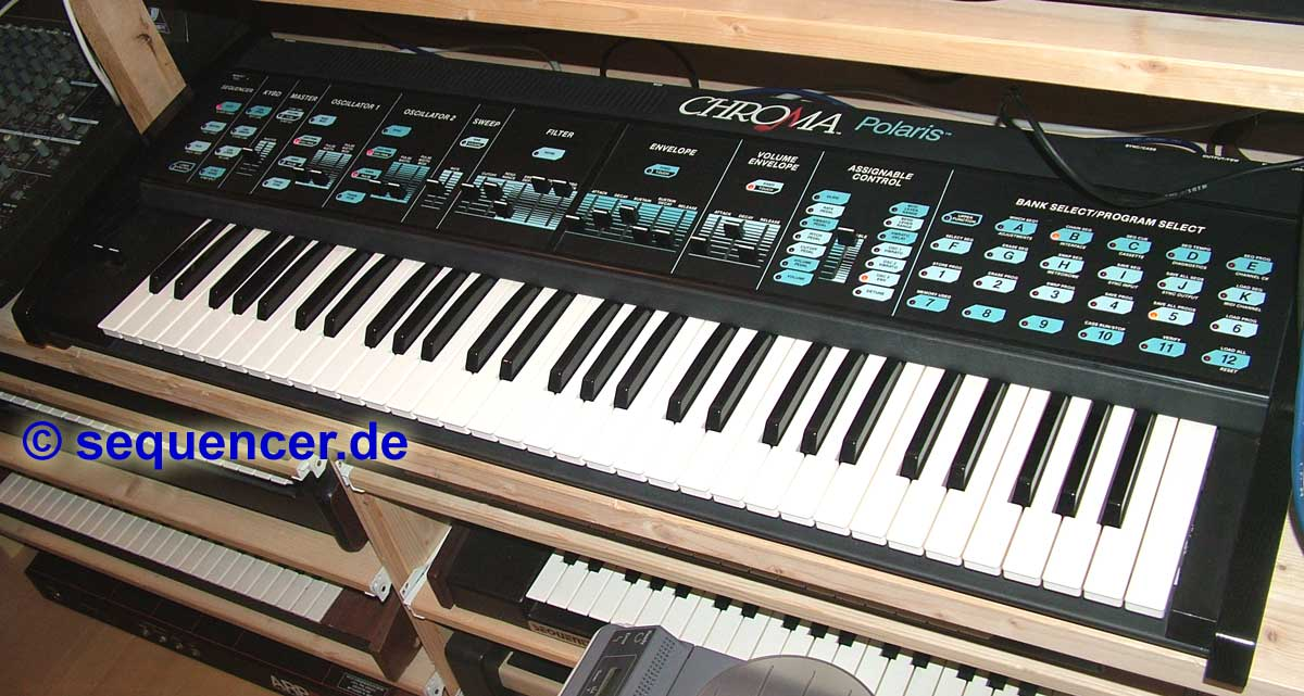 Rhodes Chroma Polaris synthesizer