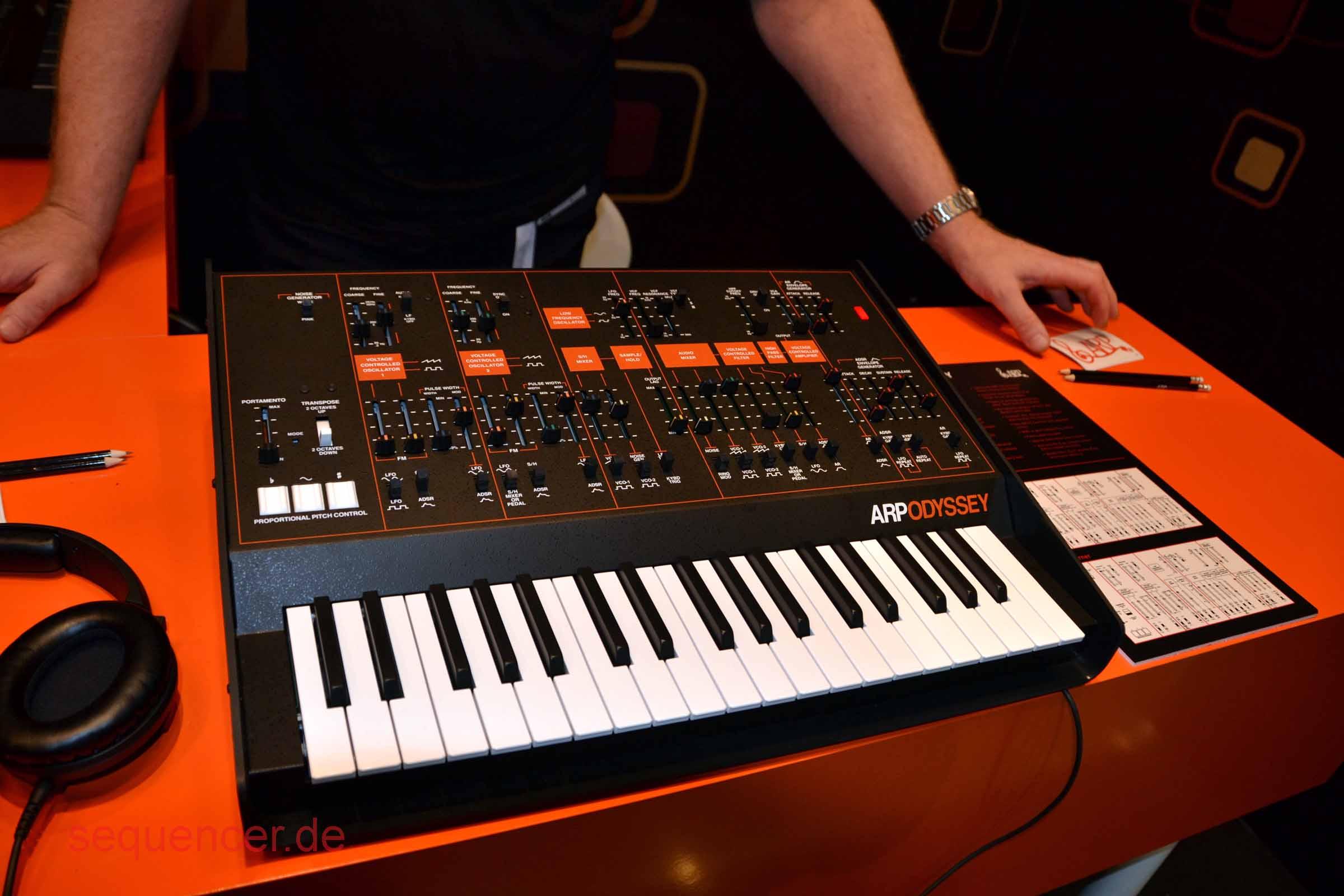 ARP Odyssey , Korg Odyssey synthesizer
