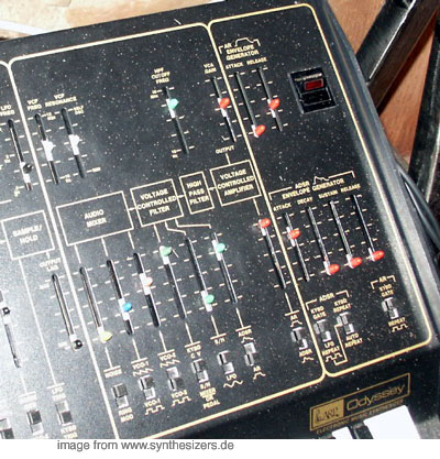 ARP odyssey (right)