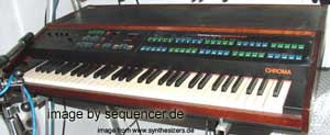 Rhodes Chroma Synthesizer (made by ARP)