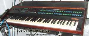 Rhodes Chroma synthesizer
