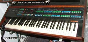 Rhodes Chroma Rhodes Chroma synthesizer