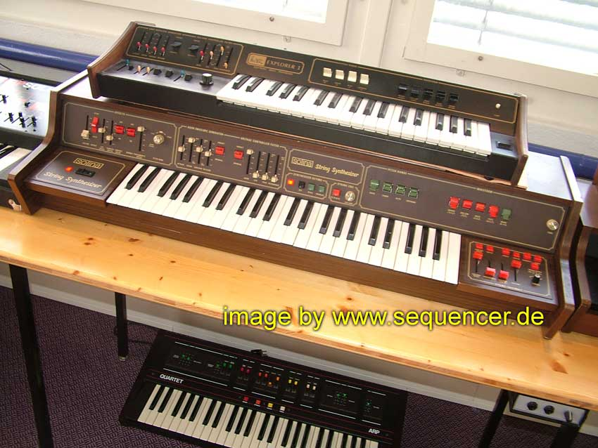 ARP Solina Strings Synthesizer synthesizer