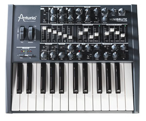 Arturia MiniBrute synthesizer