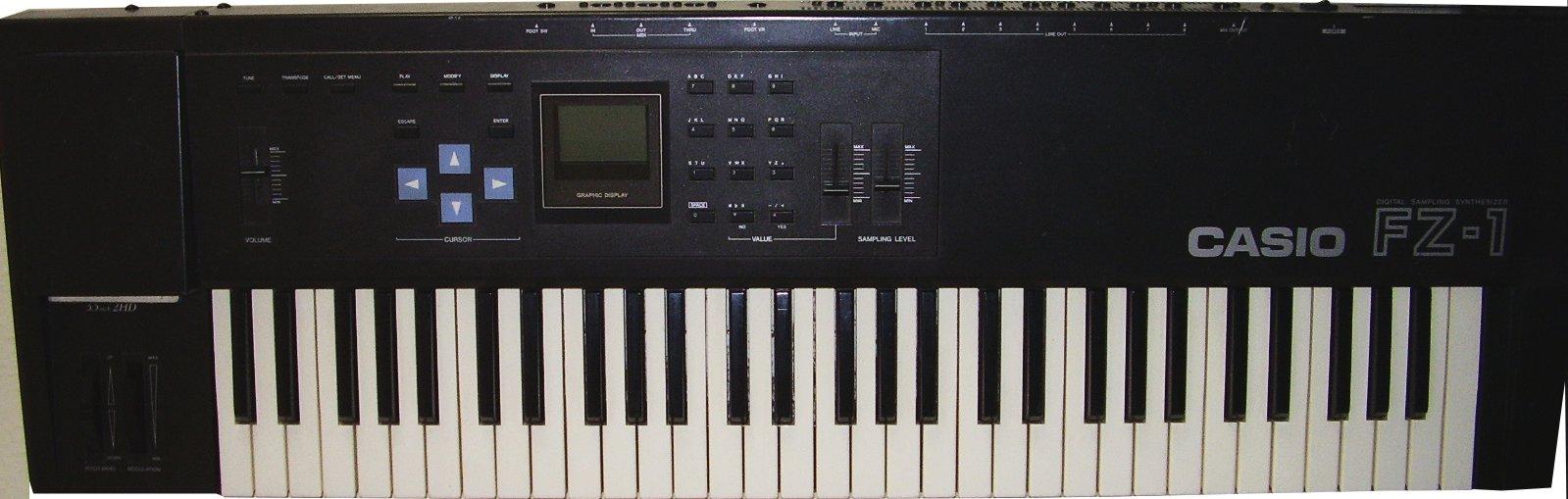 Casio FZ1/Fz10m/Fz20m