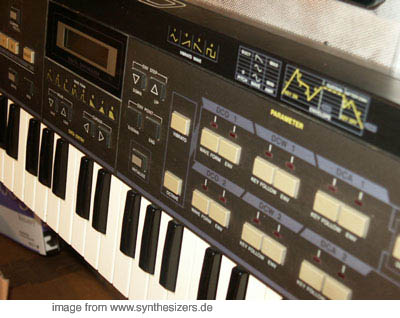 Casio CZ-101 synthesizer