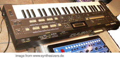 Casio CZ101, CZ1000 synthesizer