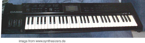 Casio VZ1, VZ10m, VZ8m synthesizer