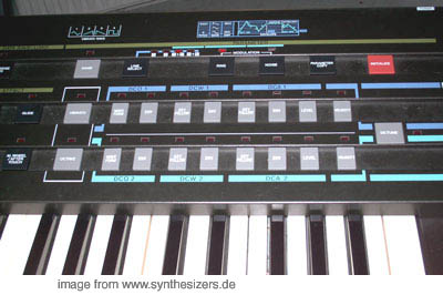 casio CZ-1 synthesizer