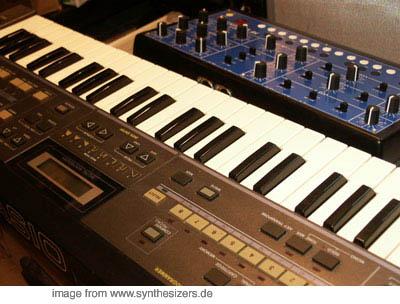 casio CZ101 synthesizer