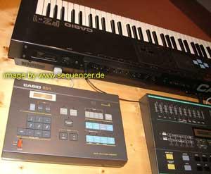 Casio Sz1 Sequencer Fz1 Sampler RZ1 Drummachine