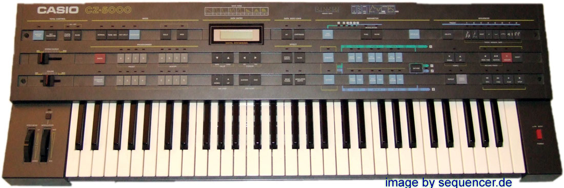 Casio CZ5000, CZ3000 synthesizer