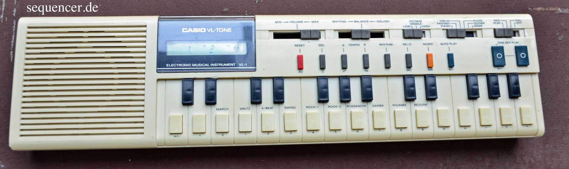 Casio VL1 synthesizer