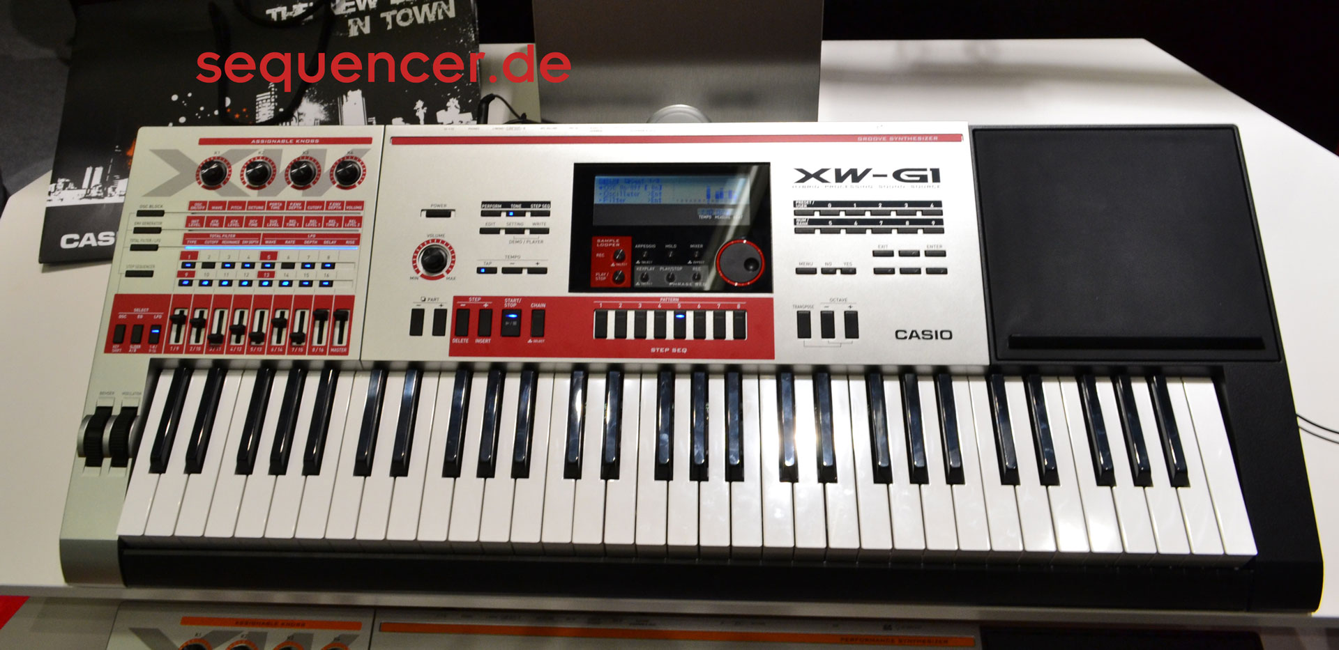 Casio XWG1 synthesizer