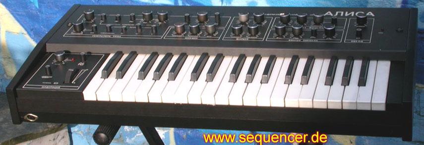 Luberetski Alisa 1387 synthesizer