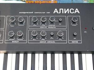 Alisa 1387 Alisa 1387 synthesizer