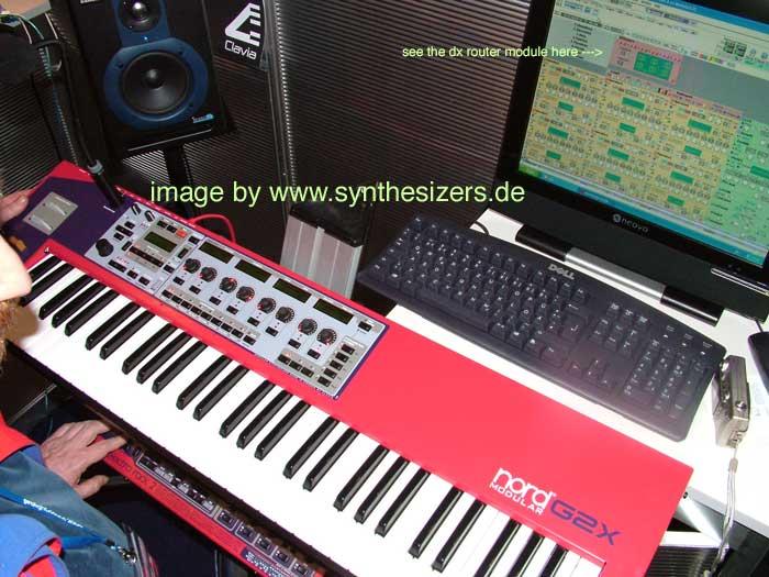 clavia g2 modular synth