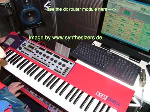 Clavia G2X Clavia G2-X synthesizer
