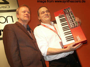 about the CLAVIA synthesizer company