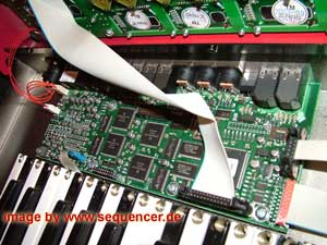 clavia g2 modular synthesizer expanded opened