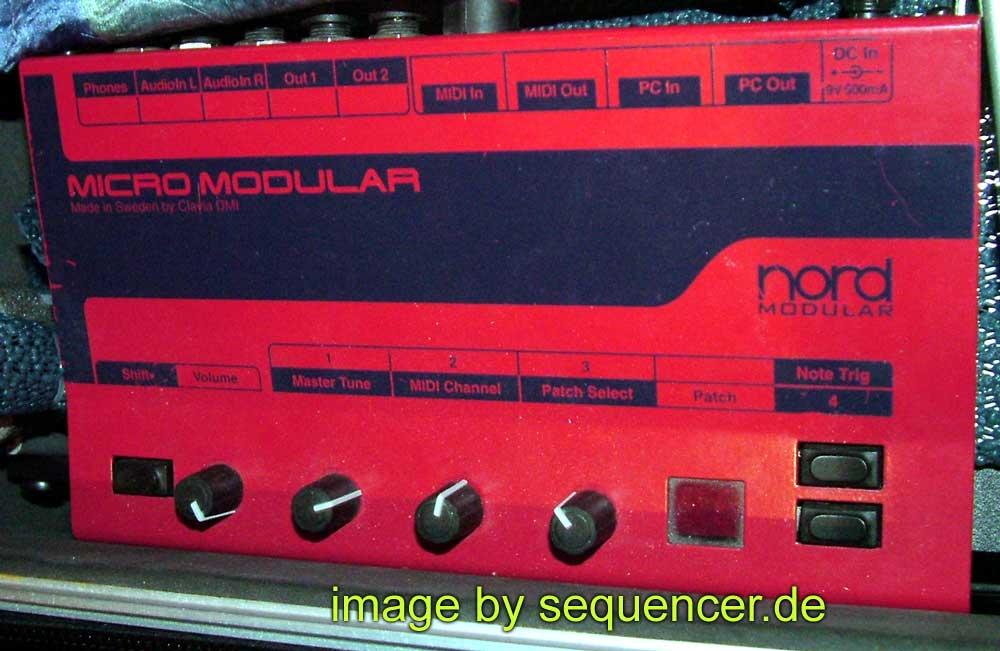 Clavia Nord Micromodular , Micro Modular synthesizer
