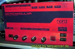 Clavia NordMicromodular, MicroModular synthesizer