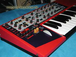 Clavia NordLead2x synthesizer