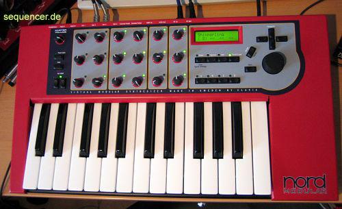 Clavia Nord Modular , Nord Modular Rack synthesizer