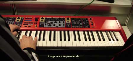 Clavia Nord Stage , Nord Stage Ex synthesizer