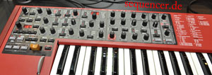 Nord Lead 4 Bedienpanel Nord Rack 4 Panel synthesizer