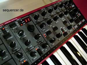 Clavia Nord Wave Clavia Nord Wave synthesizer