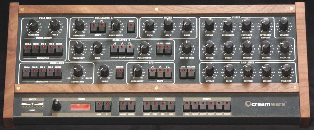 Creamware Pro 12, ASB synthesizer