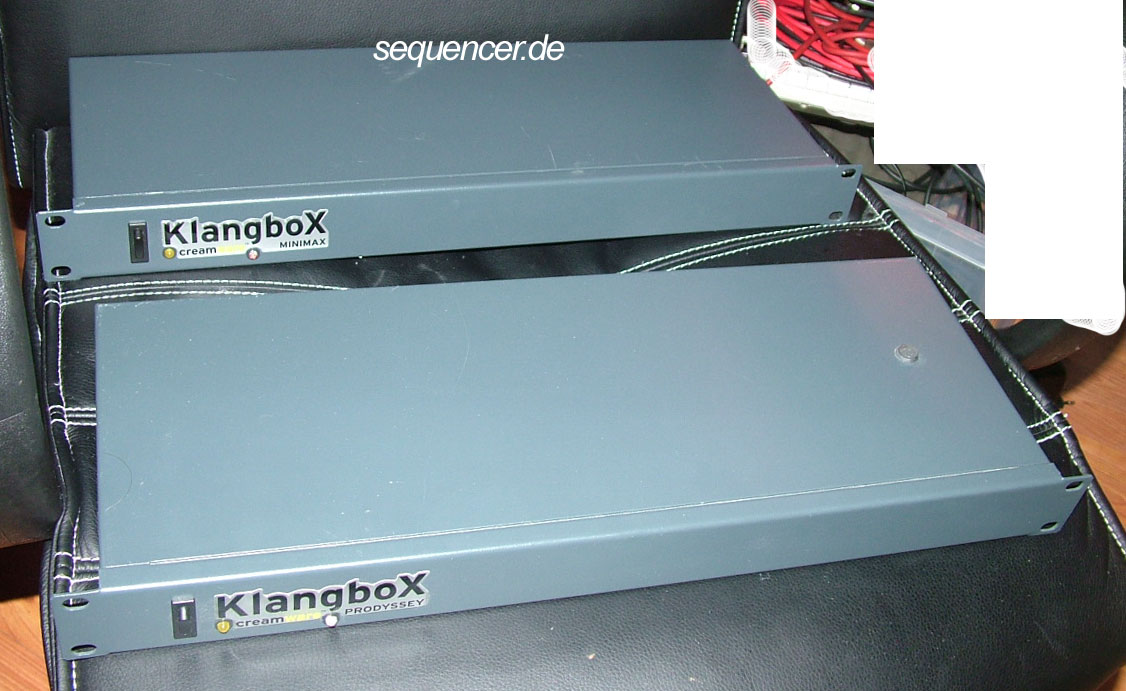 Creamware Klangbox, Prodyssey, ASB synthesizer