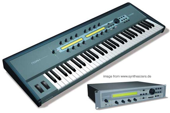 Creamware Noah synthesizer
