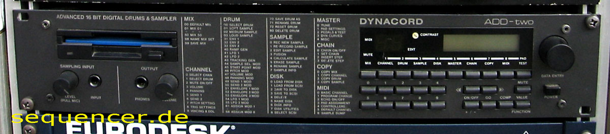 Dynacord AddTwo synthesizer