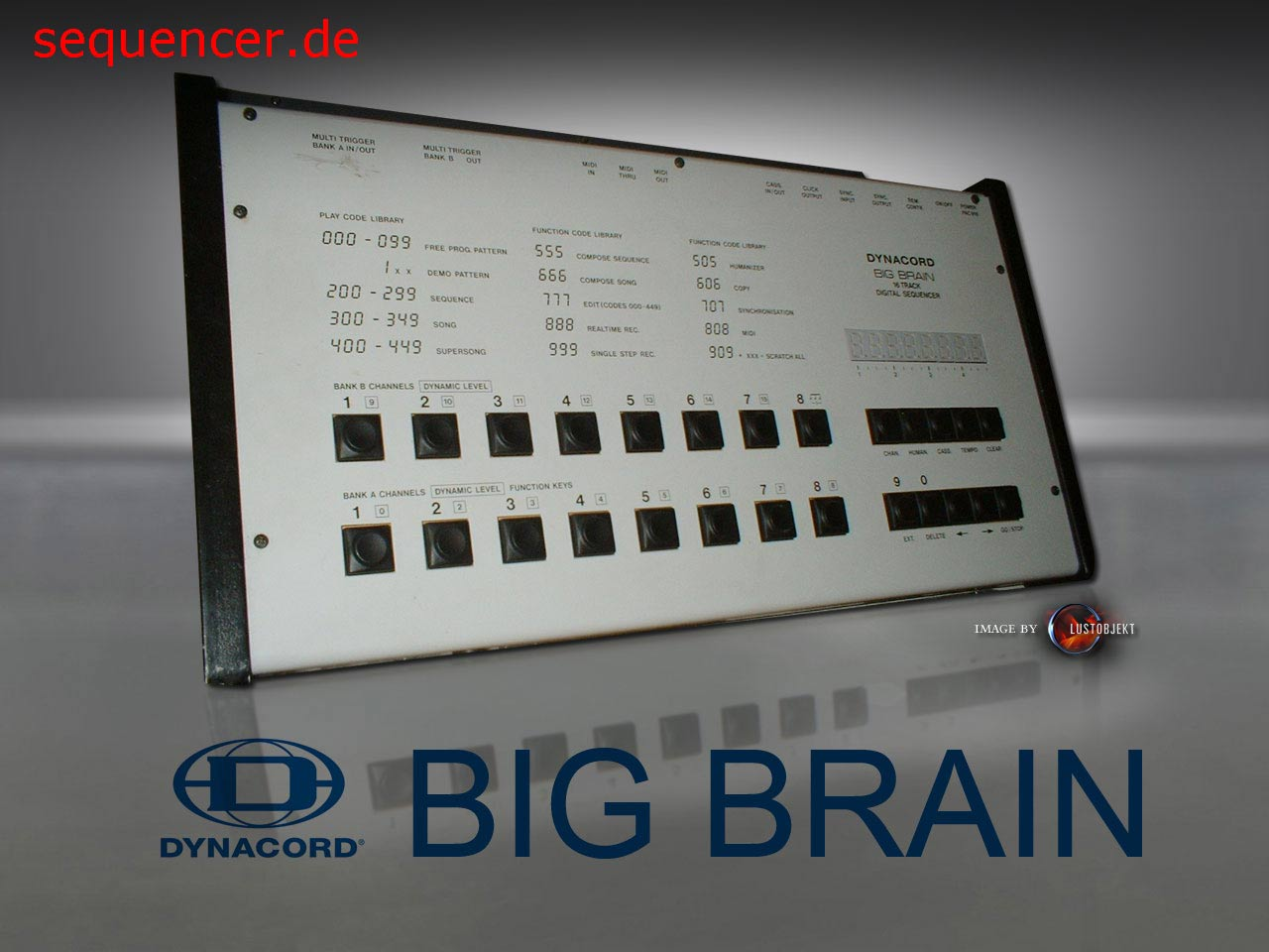 Dynacord Big Brain Dynacord Big Brain synthesizer