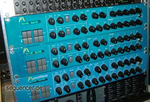 Modulus Monowave synthesizer