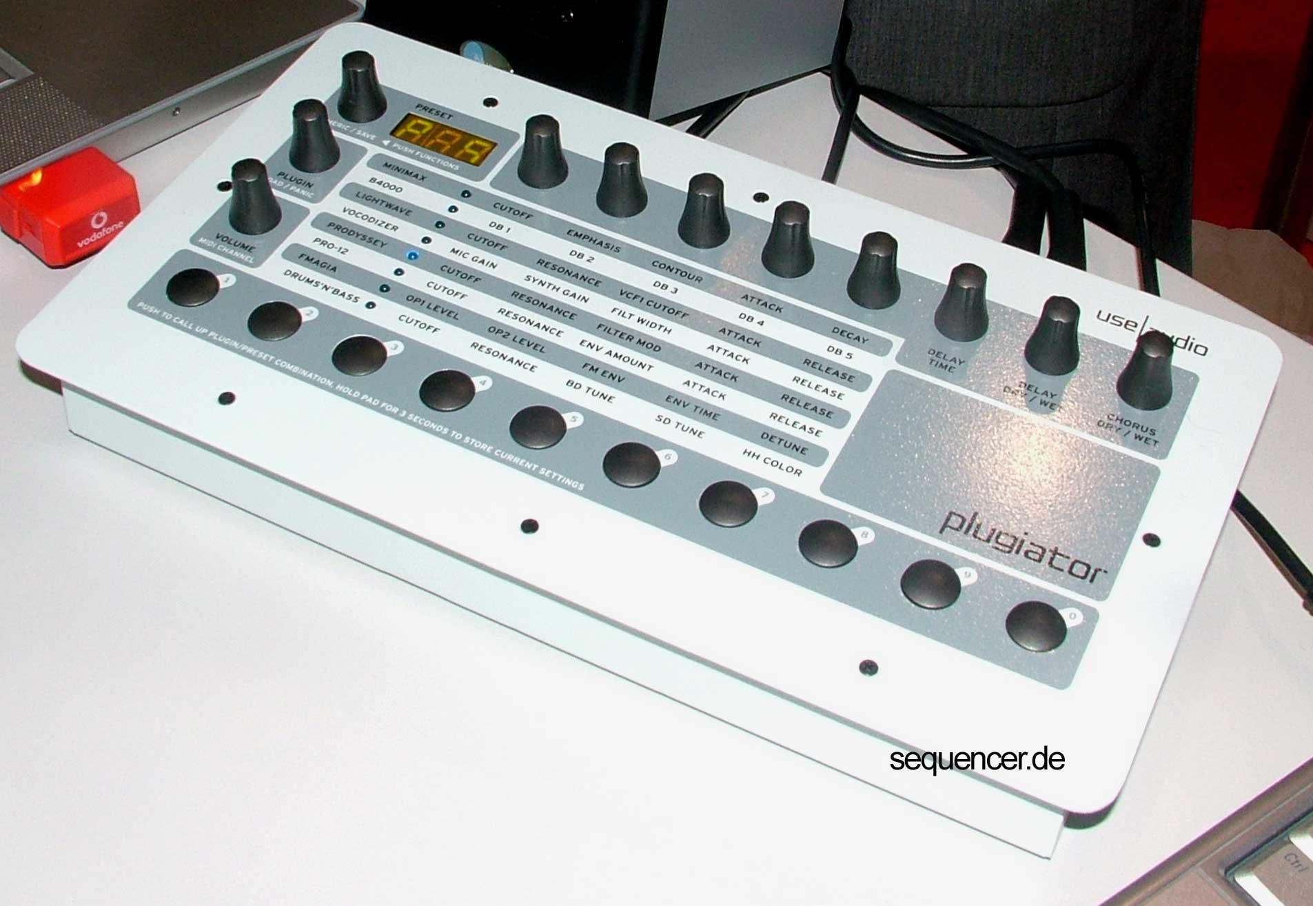 Use Audio Plugiator synthesizer