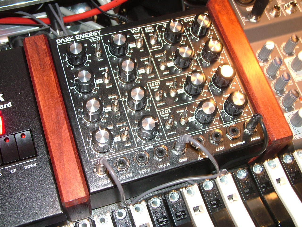Doepfer DarkEnergy synthesizer
