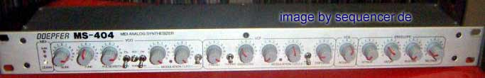 Doepfer MS404 synthesizer