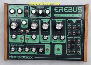 Dreadbox Erebus synthesizer