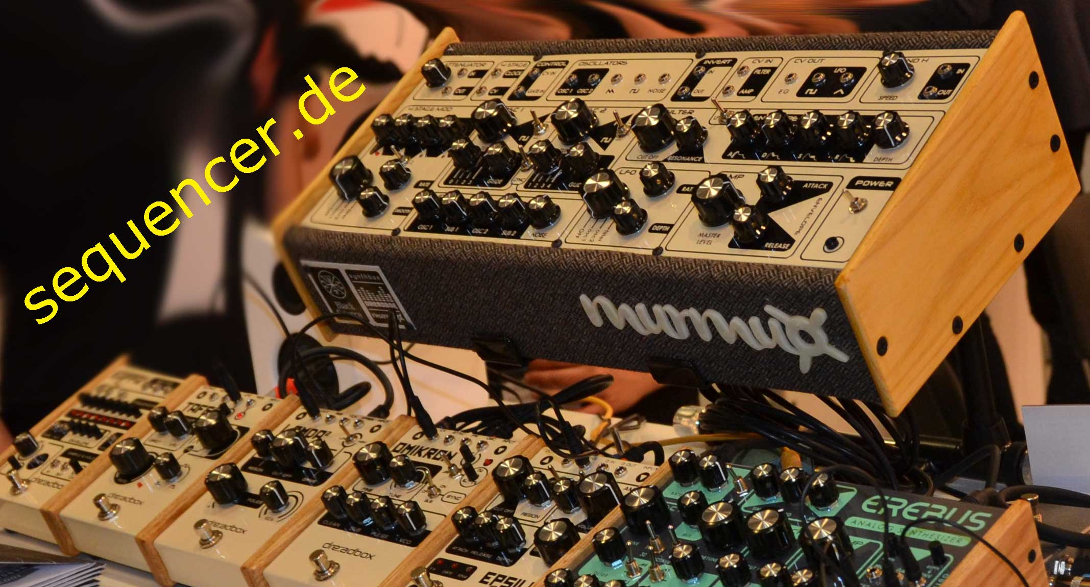 Dreadbox Murmux Semimodular synthesizer