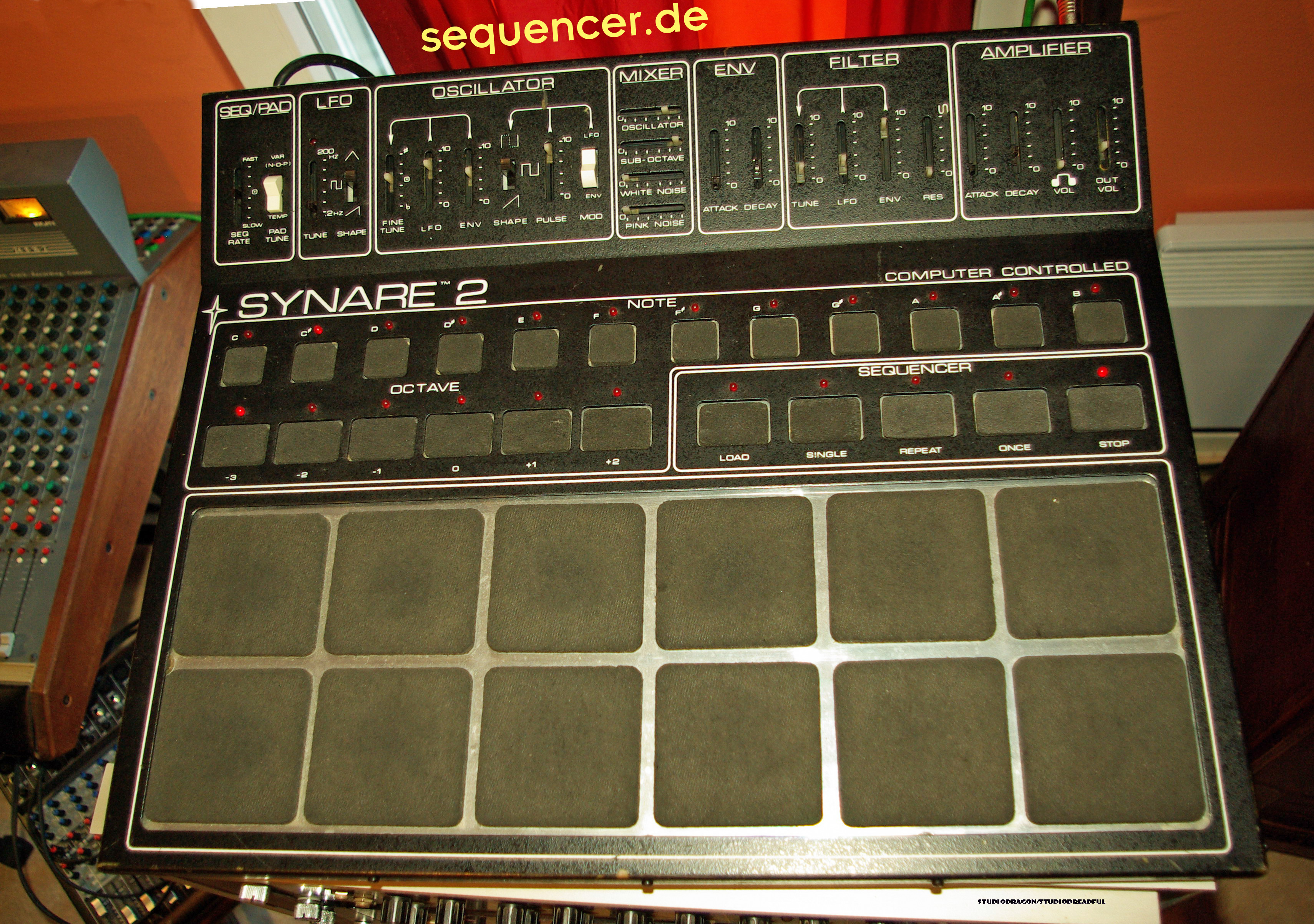Star Instruments Synare 2 synthesizer