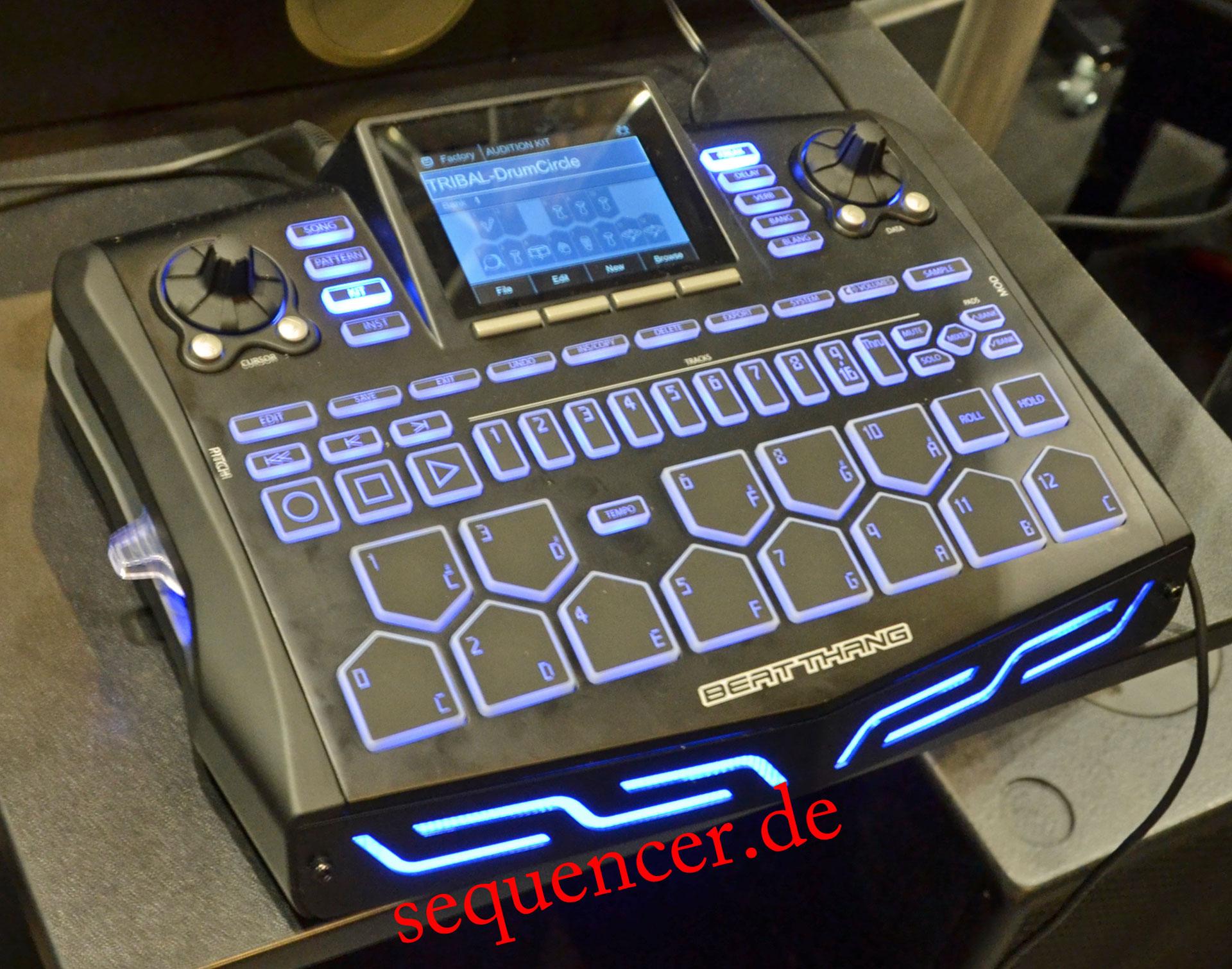Beatkangz Beat Thang synthesizer