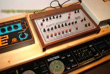 BME Rattlesnake synthesizer