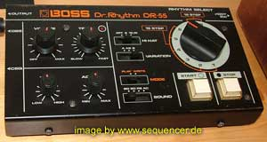 Roland DR55 synthesizer