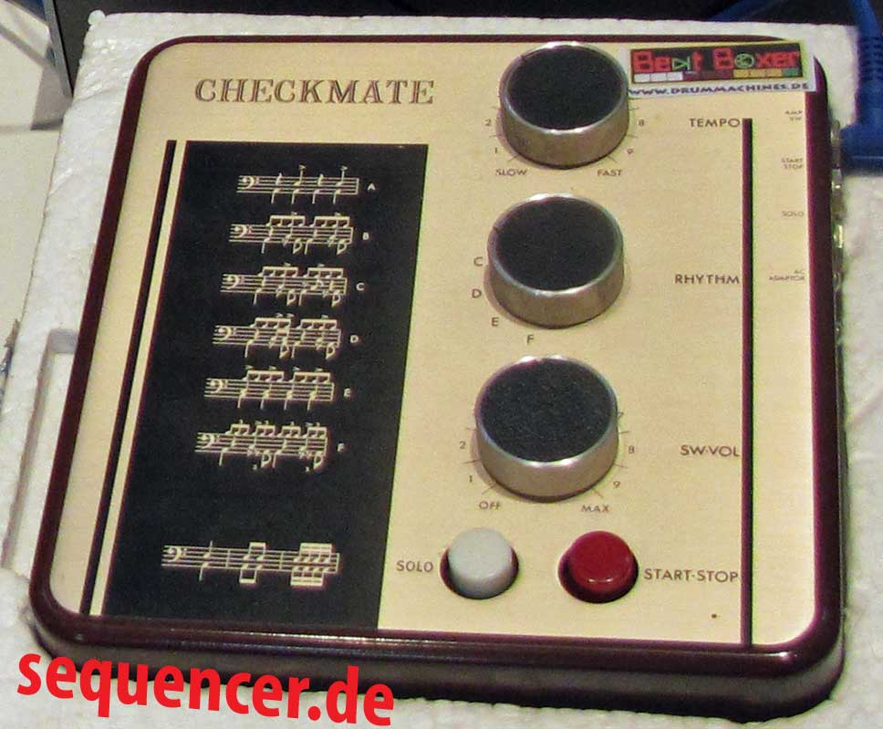 Korg DoncaMatic, Checkmate, Rockmate synthesizer