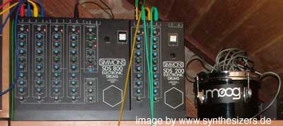 simmons drum syntheiszer SDS series